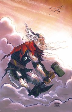 Inspiring Collection of Mighty Thor Artworks
