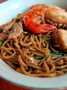 I'm here cooking one dish believed to be quite popular among the the Foochows community. The Foochows is one of the main chinese group. Malaysian Cuisine, Malaysian Food, Asian Recipes, Ethnic Recipes, Yummy Recipes, Chicken Chunks, Chicken Alfredo, Noodle Recipes