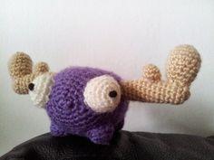 The Owlodactyl's nest: Invader Zim crocheted mini-moose