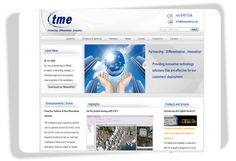TME Systems  TME Systems is a premier high-tech solutions and services provider. Established in 1986 and headquartered in #Singapore, they have since expanded with branches and affiliate offices in the Southeast Asia region. The website is implemented with content management system. The user is able to update the website on the backend system.