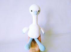 Image of cigüeña amigurumi *amigurumi stork