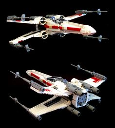 Lego X-wing by psiaki, via Flickr