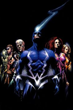 The Inhumans | Artist: Jae Lee