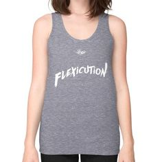 Flexicution Logic Unisex Fine Jersey Tank (on woman) Shirt