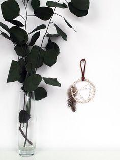 Mini Dreamcatcher - Bohemian Home Decor -Boho Gift for Friends -Modern Rustic Dream Catcher -Gift Topper -Cabin Decor -Dreamcatcher Ornament