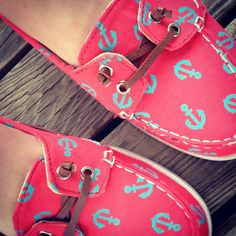 My Adorable Anchor Shoes :) #OldNavy