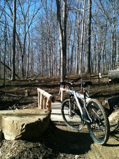 Best MTB trails in Indiana are in Brown County State Park.