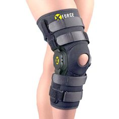 Amazon.com: XFORCE Bestselling Knee Brace Support (SMALL) Adjustable Hinges - For Pain Or Recovery: Health & Personal Care