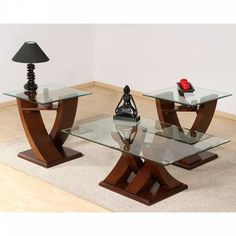 28 Fresh Glass Coffee Table and End Tables Set 2020 Glass Table Set, Glass Dining Table, Narrow Sofa Table, Sofa Tables, Sofa Table With Storage, Centre Table Living Room, Tea Table Design, Table Furniture, Furniture Design