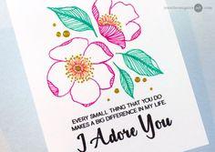 Stamp Tracing + Blog Hop + Giveaways + FREE STAMP - Jennifer McGuire Ink