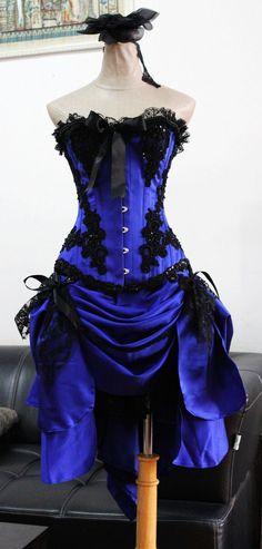 comes in lighter purple, and perhaps with a black longer skirt underneath.