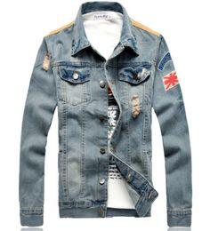 Cool-New-Mens-Denim-Jeans-Scrub-Slim-Fit-Style-Casual-Motor-Jacket-Outwear-Coat