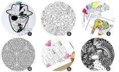 18 láminas para colorear para adultos #colorear #freebies #printables #laminas #aperfectlittlelife ☁ ☁ A Perfect Little Life ☁ ☁