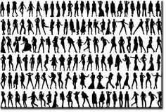 Znalezione obrazy dla zapytania grafika czarno biała postacie