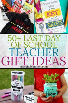 End of School Year Teacher Gift Ideas Last Day of School Teacher Gift Ideas! Tons of ideas - some DIY, some simple printables, gift card ideas and more! Kindergarten Teacher Gifts, Funny Teacher Gifts, Preschool Gifts, Teacher Christmas Gifts, Teacher Appreciation Gifts, Homemade Teacher Gifts, Teacher Stuff, Teacher End Of Year, Back To School Gifts For Teachers