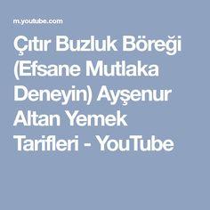 Çıtır Buzluk Böreği (Efsane Mutlaka Deneyin) Ayşenur Altan Yemek Tarifleri - YouTube
