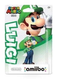 Boxshot: Luigi Super Mario amiibo Figure by Nintendo