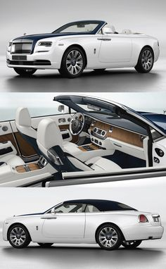 //This Teak-Clad #Rolls-Royce #Dawn Is Fully #Customized to Resemble a #Yacht