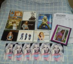Britney CD Singles and DVD Collection.