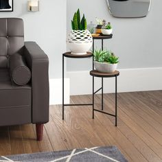 Today's Recommended Logan Square Multi-Tiered Plant Stand By Mercury Row Now Plant Table, A Table, Terrarium Stand, Terrariums, Diy Wooden Projects, Metal Projects, Corner Plant, Wood Plant Stand, Plant Stands