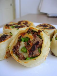 Spring Onion and Minced Beef Dim Sum