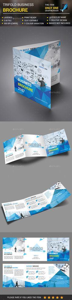 Square Corporate Trifold vol 4 - #Corporate Brochures
