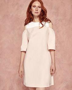 242442a6ec37b Women fashion  ad Cutout shoulder cotton dress Luxury Dress