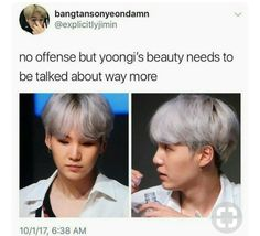 YALL WHACK FOR SLEEPING ON MIN YOONGI>>> well I won't sleep on him but next to him would be great.