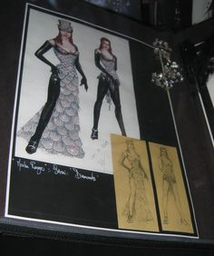 The Costumer's Guide to Movie Costumes - Moulin Rouge, Satine, Black Diamonds