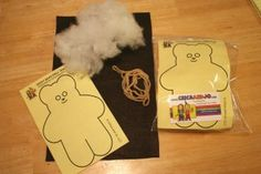 teddy bear craft kit
