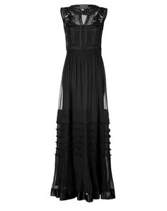 Designer Clothes, Shoes & Bags for Women Grecian Dress, Sheer Maxi Dress, Dress Up, Sheer Gown, Grey Fashion, Fashion Beauty, Fashion Outfits, See Through Dress, Long Gowns