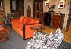 Poirot's flat Inside Poirot's second Whitehaven Mansions 1930's apartment