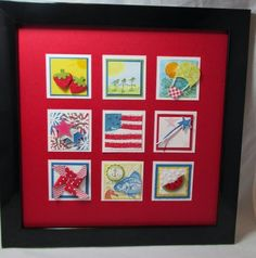 Stamp & Scrap with Frenchie: Fall Inchie Frame