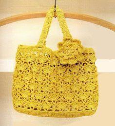 Uncinetto d'oro: La borsa gialla!