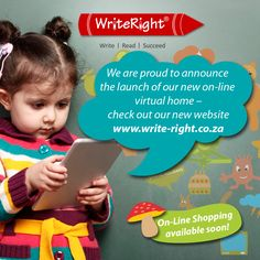 Write Right has a new virtual home at www.write-right.co.za - On-Line Shopping available soon.