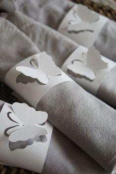cut out butterflies :)