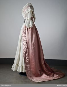 Trained Open Robe, ca. late 18th centuryvia Nordic National...