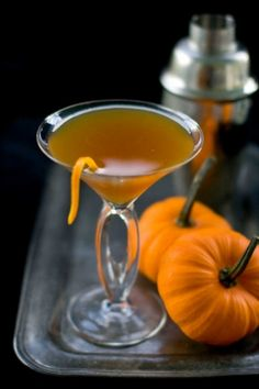 A delicious pumpkin pie.... that you drink