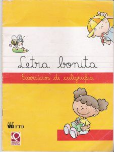 Letra Bonita – exercícios de caligrafia