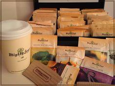 Una gran variedad de tés.