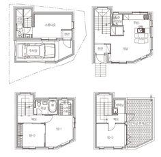 [BY 월간 전원속의 내집] 네 식구에 맞춰 지어진 4층 주택의 외관. 공간마다 크고 작은 창을 배치하여 ...