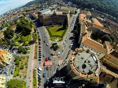 Modaromul si Consiliul Judetean, vedere aeriana #brasov #romania #transylvania Brasov Romania, Big Ben, Rolex Watches, Building, Travel, Viajes, Buildings, Destinations, Traveling