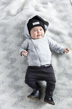 I dig denim baby Ed sweatpants, Egon jacket and Zeke beanie Photography: Hans Ericksson