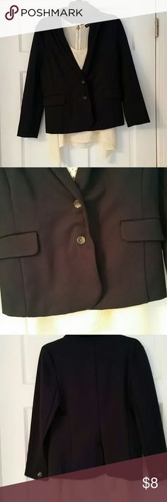 Old Navy Size Lagre. Navy blazer. Great condition. Just washed. Never in dryer Old Navy Jackets & Coats Blazers