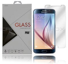 Tempered Glass Display Schutzglas Schutzfolie für Samsung Galaxy S6!