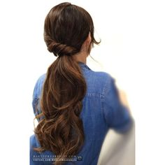 4 Easy Lazy Hairstyles 5 Minute Everyday Hair Tutorial Video ❤ liked on Polyvore featuring hair, cabelos and hairstyle