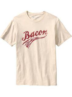 Gap + Threadless Team Bacon T