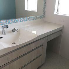 Bathroom/Before/2階/モザイクタイル/二世帯住宅/ガラスタイル...などのインテリア実例 - 2017-08-15 13:40:43 | RoomClip (ルームクリップ)