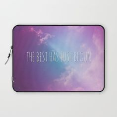 #laptop #laptopsleeve #clouds #text #quote #words