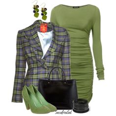 Falling Into Plaid, created by sassafrasgal on Polyvore